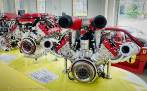 Annie_Wilcox_Photography_travelling_with_a_camera_Ferrari_Museum_Modena_Italy_engine