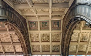 Annie_Wilcox_Photography_travelling_with_a_camera_London_Natural_History_Museum_Hintze_Hall_Ceiling_plants