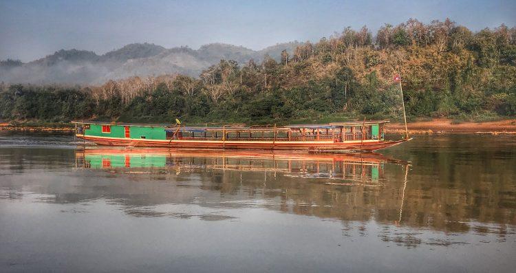 Cruising The Mekong in Laos