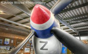 Spitfire propeller at RAF Manston Spitfire & Hurricane Memorial Museum