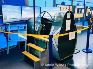 simulator at The Manston Spitfire Experience