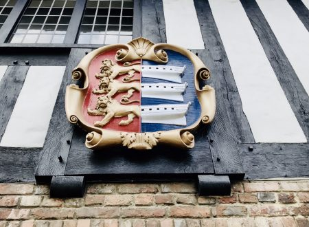Sandwich Coat of Arms on the Guildhall